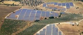 large solar field